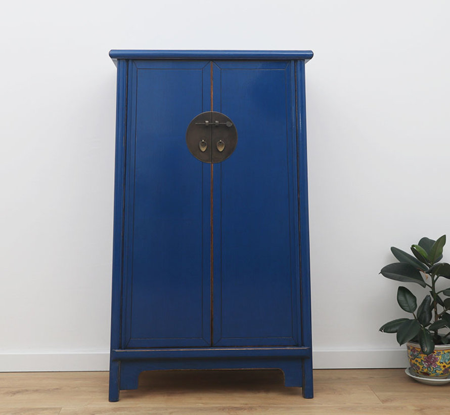 Chinese wedding cupboard 2 doors solid wood