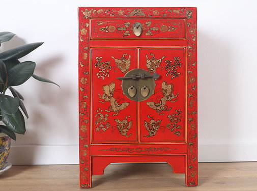 Yajutang Chinese chest of drawersred