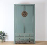 Yajutang Wedding cabinet 2 doors grey