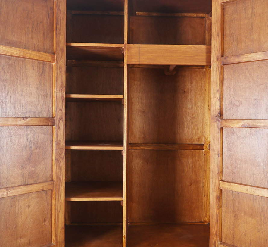 Chinese wedding cabinet 2 doors 4 drawers red