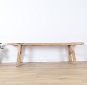 Yajutang Antiker Sitzhocker Holzhocker Massivholz