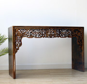Yajutang Antique china table with carving
