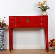 Yajutang Chinesische Kommode Tisch Sideboard rot