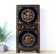 Yajutang Chinese dresser wedding cabinet black