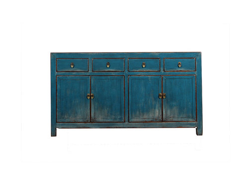 Yajutang Sideboard 4 doors 4 drawers used blu