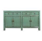 Yajutang Sideboard  4 drawers used Mint green