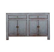 Yajutang Sideboard 4 doors 2 drawers used gray