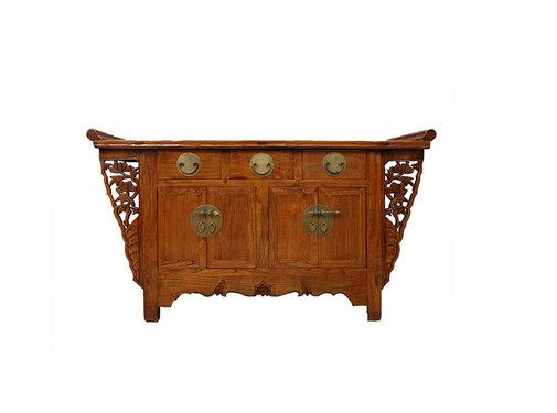 Yajutang Antique sideboard 4 doors 3 drawers