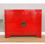 Yajutang Chinese dresser  red