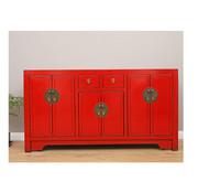 Yajutang sideboard 6 Türen 2 Schubladen red