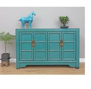 Yajutang Antique sideboard dresser turquoise