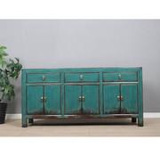 Yajutang Sideboard 6 doors 3 drawers turquoise