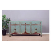 Yajutang Sideboard 6 doors 3 drawers gray