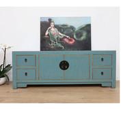 Yajutang Chinese sideboard solid wood TV table