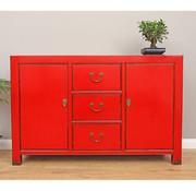 Yajutang Chinese sideboard dresser 2 Türen red