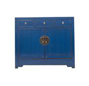 Yajutang Sideboard 2 doors 3 drawers used blue