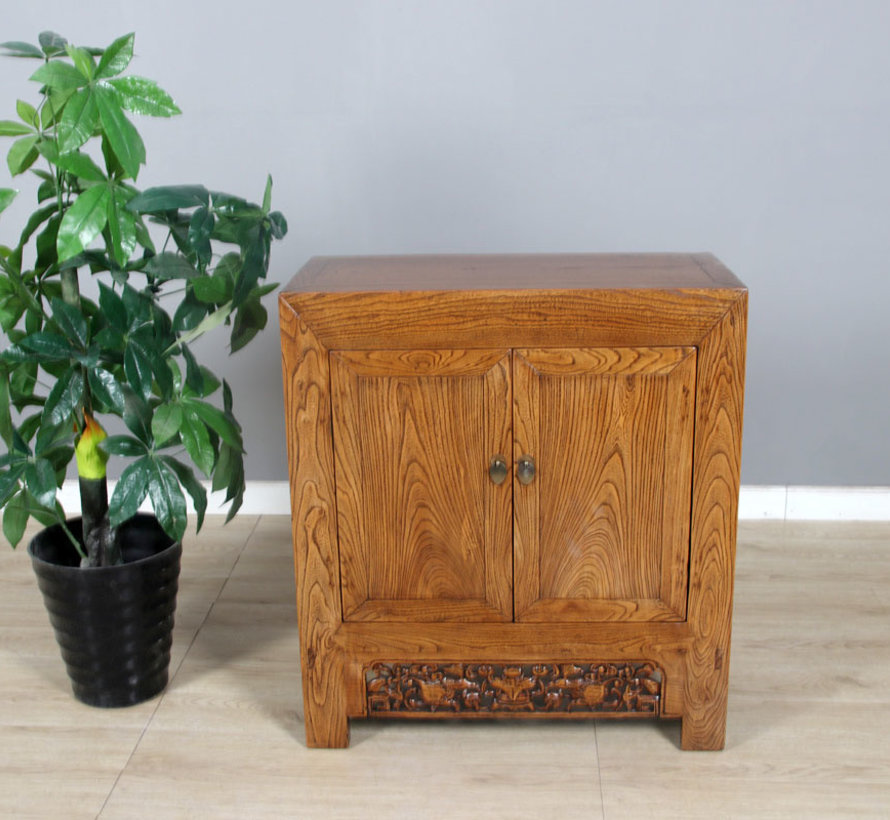 Antique Chinese chest of drawers brown