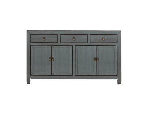 Yajutang Chinese sideboard 4 doors 3 drawers