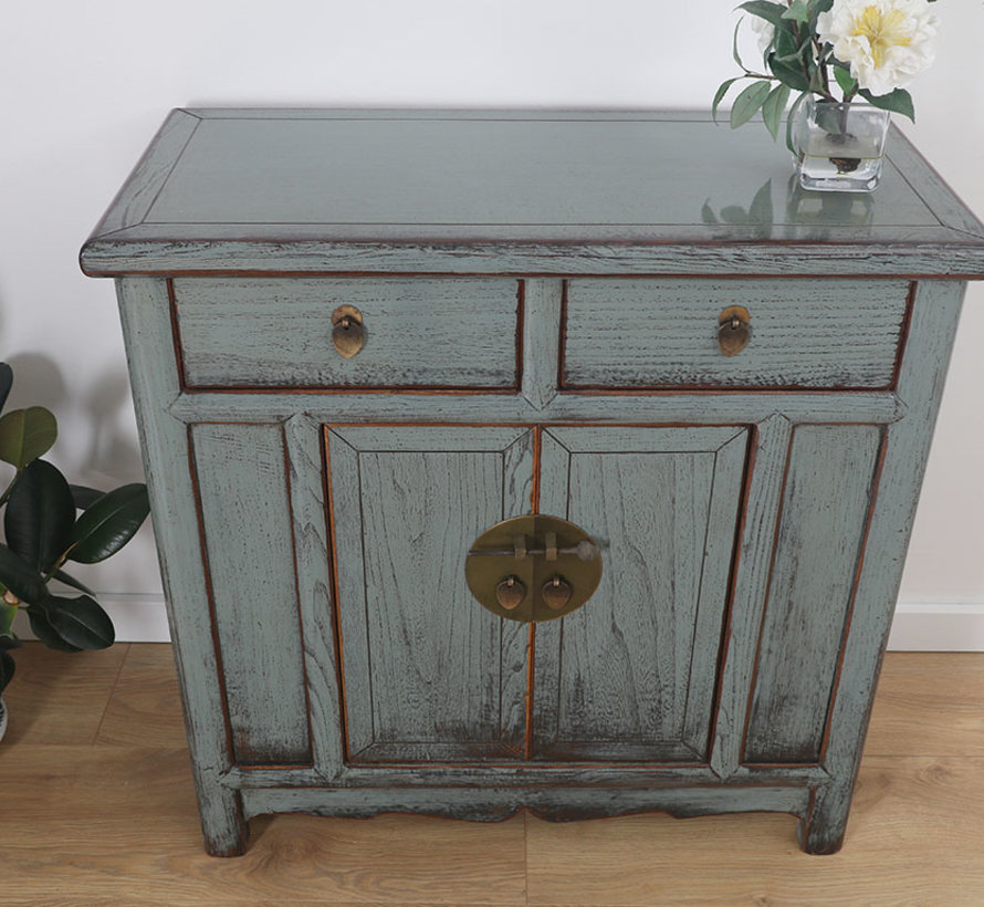 Chinese chest of drawers Oriental / Asian style gray