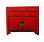 Yajutang china cabinet  2 doors 5 drawers