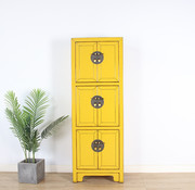 Yajutang Chinese wedding cupboard 6 doors lemon