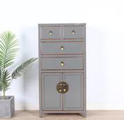 Yajutang Chinese chest of drawers gray