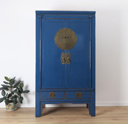 Yajutang Chinese wedding cabinet blue
