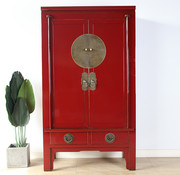 Yajutang Chinese wedding cabinet 2 purple