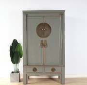Yajutang Chinese wedding cabinet 2 gray