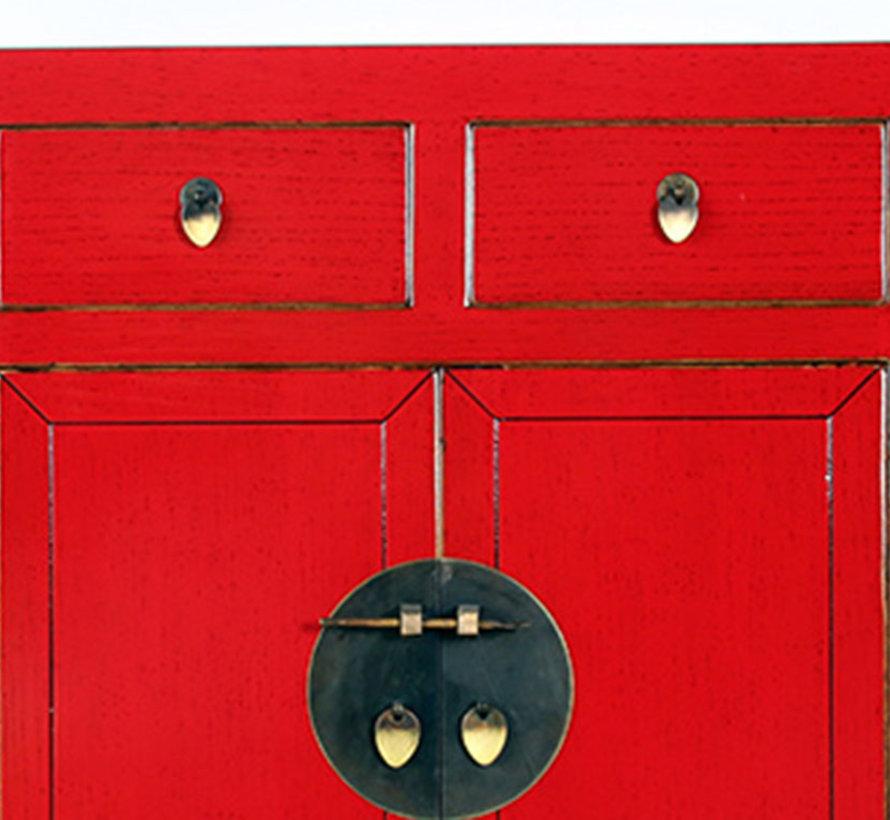 chinesische Kommode Orientalisch/Asiatisch Stil rot