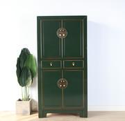 Yajutang Chinese dresser wedding cabinet fir green
