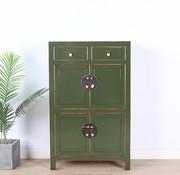 Yajutang china dresser shoe cabinet olive green