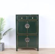 Yajutang china dresser shoe cabinet fir green