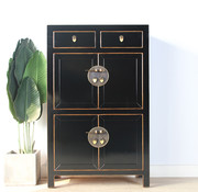 Yajutang china dresser shoe cabinet black