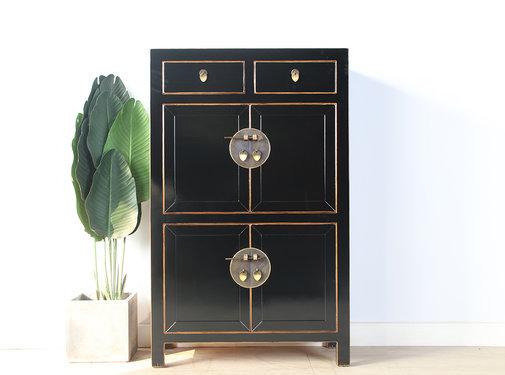 Yajutang china dresser shoe cabinet black