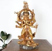 Yajutang Trailokyavijaya Vajrayana König Buddhism