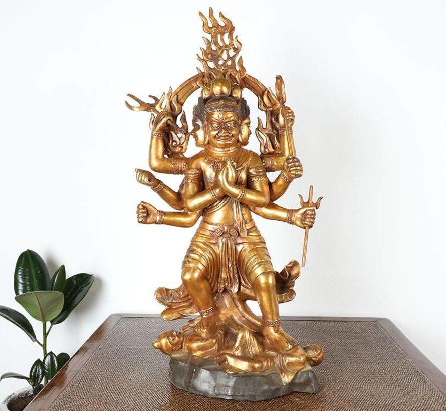 Trailokyavijaya Vajrayana ist einen der fünf Könige des Buddhismus