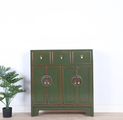 Yajutang Chinese cabinet Asian olive-green