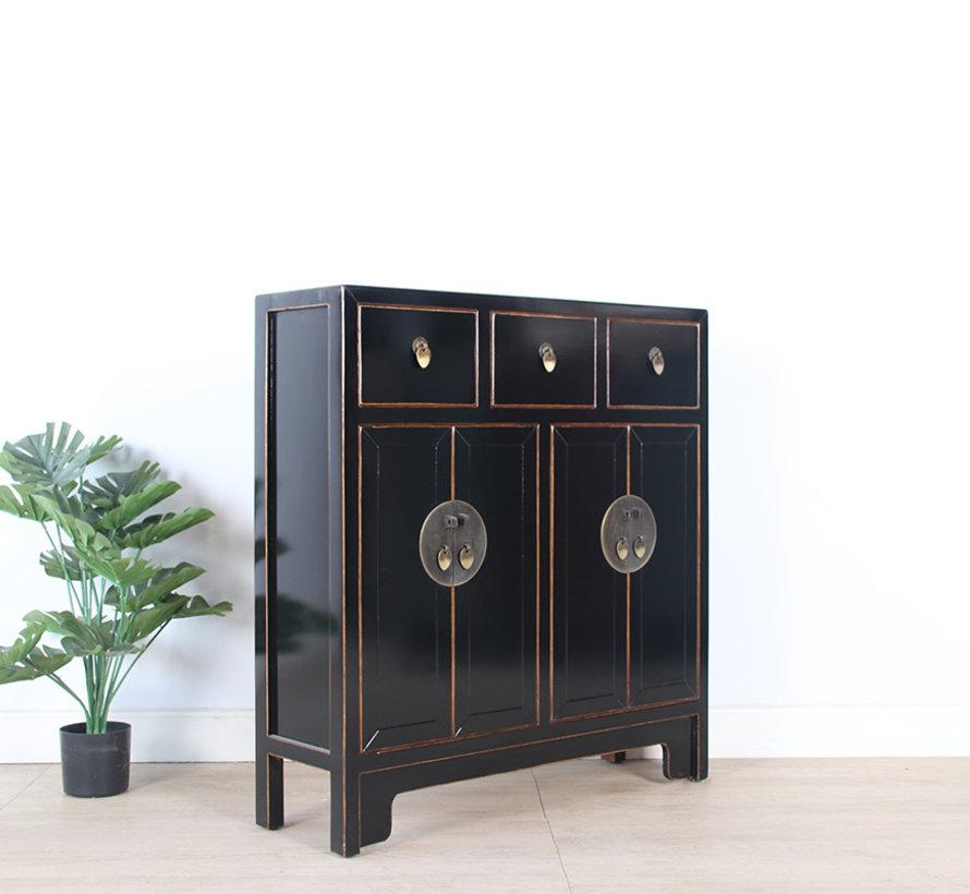 Chinese dresser 25 cm Deep Oriental / Asian style black