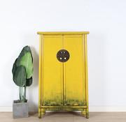 Yajutang Wedding cabinet 2 doors yellow