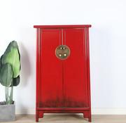 Yajutang Wedding cabinet 2 doors red