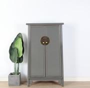 Yajutang Wedding cabinet 2 doors gray