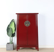 Yajutang Wedding cabinet 2 doors purple red