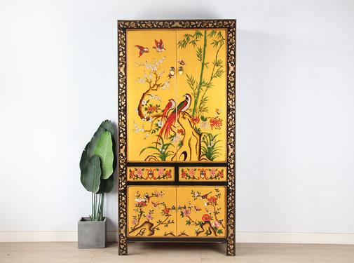 Yajutang Wedding cabinet hand painted Phoenix