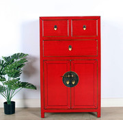 Yajutang Chinese chest of drawers  red