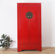 Yajutang Chinese wedding cabinet red