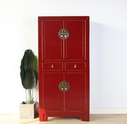 Yajutang Chinese dresser wedding cabinet purple red