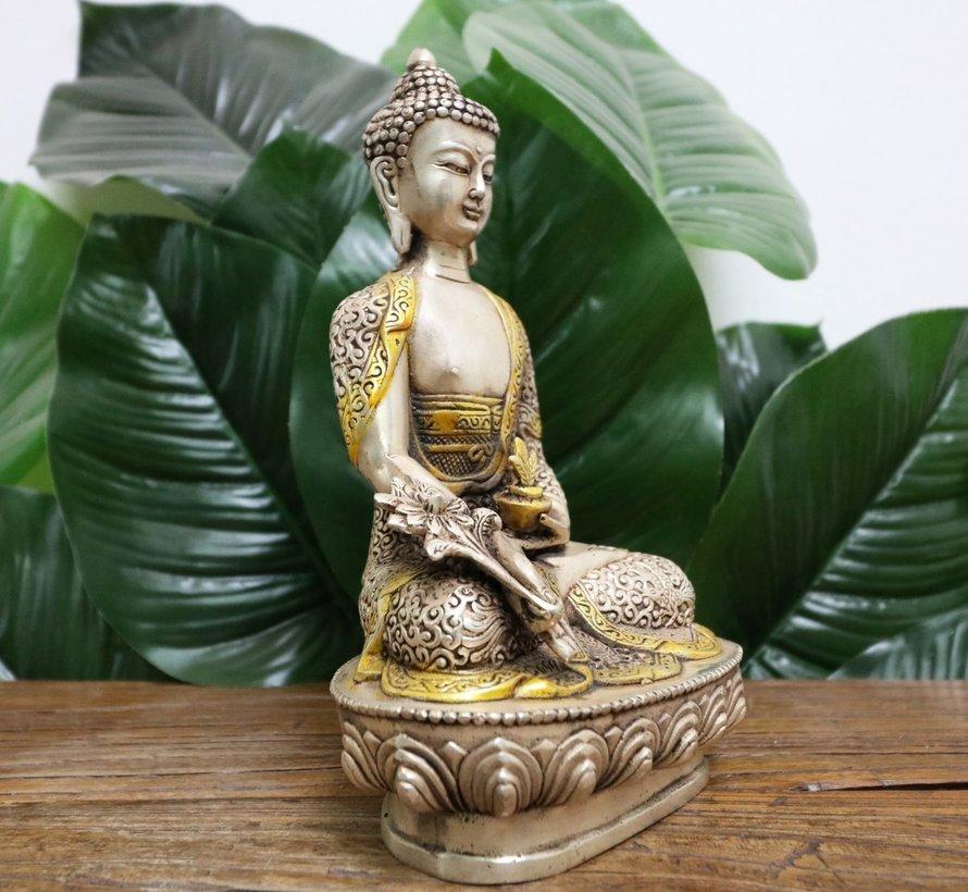Medizin Buddha schützt  vor körperlichen  psychischen Erkrankungen
