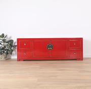 Yajutang Chinese TV board 2 doors 4 drawer