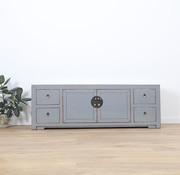 Yajutang chinesisches TV Bord 2 Türen 4 Schublade